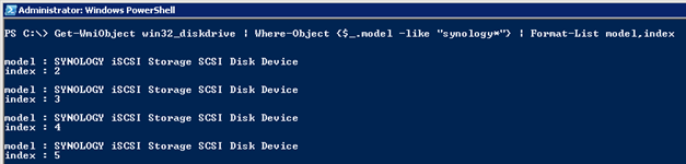 Using PowerShell, WMI and diskpart to bring disks online